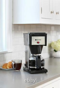 10-Cup Brew Coffee Maker Stainless Steel Home Office Kitchen Coffeemaker Machine