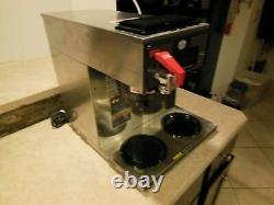2101 BUNN CWTF15 CW 3L PF 3 BURNER Commercial Coffee Maker Machine with 3 Pots