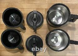 (2) BUNN BTX-B ThermoFresh 10 Cups Velocity Speed Brew Thermal Coffee Makers