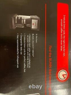 BUNN 10 Cup Coffee Maker BX Model New in Sealed Box Free Shipping
