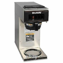 BUNN 13300.0001 VP17-1SS Pourover Coffee Brewer Stainless Steel 120V/60/1PH