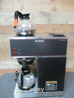 BUNN 33200.0001 VPR Commercial Pour-Over Coffee Maker with 2 Decanters