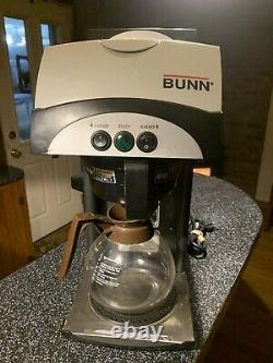 BUNN 392 2-WARMER POUR-OVER COFFEE MAKER BREWER Commercial