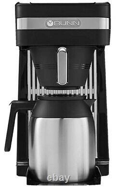 BUNN 55200 CSB3T Speed Brew Platinum Thermal Coffee Maker Stainless Steel 10-Cup