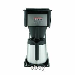 BUNN BT Velocity Brew 10-Cup Thermal Carafe Home Coffee Brewer, Black 1-(Pack)