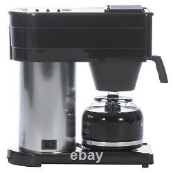 BUNN BXB Speed Brew Coffee Maker, Stainless Steel, 10 Cup