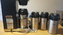 BUNN Coffee Maker / Brewer Machine VPR-APS Series With Four Airpots