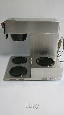 BUNN Commercial 3 Burner Pour Over Coffee Brewer Maker Machine CW Series