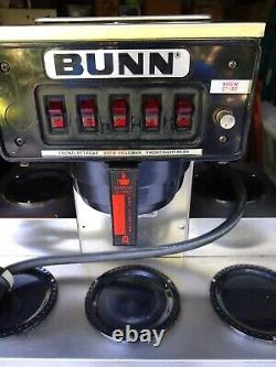BUNN Commercial Coffee Maker. 5 Burners. Excellent Conditon