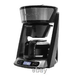 BUNN HB Heat N Brew Programmable Coffee Maker, 10 cup, Stainless Steel, 46500.0