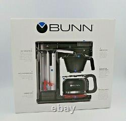 BUNN Speed Brew Elite CSB2 Grey to 10 Cups Drip-Free Carafe Coffee Maker New