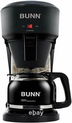 BUNN Speed Brew Outdoorsman 10-Cup Home Coffee Brewer Realtree Camo and Black
