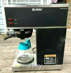 BUNN VPR 12 Cup Commercial Coffee maker Brewer Black 33200.1000 pour over OS