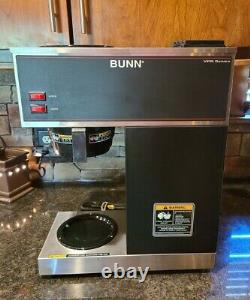 BUNN VPR Commercial Pour Over Coffee Brewer Maker Black 33200.0001 Clean