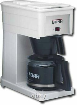 Back to top Top BUNN GRW Velocity Brew Orignal 10-Cup Coffee Maker White