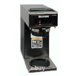 Bunn 13300.0011 Coffee Maker with 1 Warmer Low Profile Pourover Black Decor