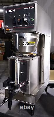 Bunn 23050.0011 Commercial Coffee Maker/ Single Brewer 120/240V, 4300W WORKING