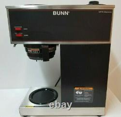 Bunn 33200.0001 VPR 12-cup Commercial Pour-Over Coffee Maker with Four Decanters