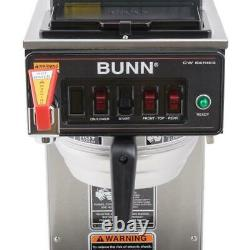 Bunn CWTF-DV 12 Cup Dual Volt Automatic Coffee Brewer with 3 Warmers 12950.0410