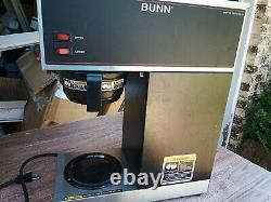 Bunn Coffee Brewer Maker Commercial Restaurant Stainless Funnel 12 Cup VPR 33200