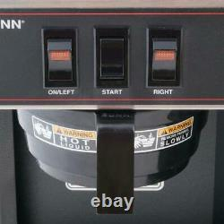 Bunn Coffee Maker 12-Cups Automatic Basket Filter Drip Type 2-Warmers Black