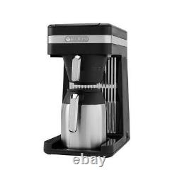 Bunn Coffee Maker Speed Brew Drip Type Thermal Carafe 10-Cup Platinum Black
