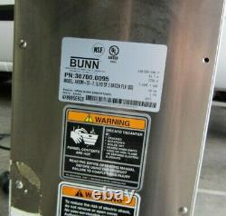 Bunn Commercial Coffee Maker Axiom 35-2 1L/1U 38700 0095 pre-owned working