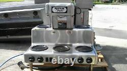 Bunn Commercial Coffee Maker CRTF5-35 5 Warmers