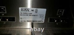 Bunn Dual Commercial Coffee Maker Comes with 2 smart funnels
