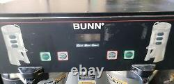 Bunn Dual TF DBC Thermofresh Digital Coffee Brewer Maker with faucet #1609