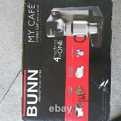 Bunn MY CAFE Single Cup Coffee Maker Multi-Use Brewer 4 Machines In One. New