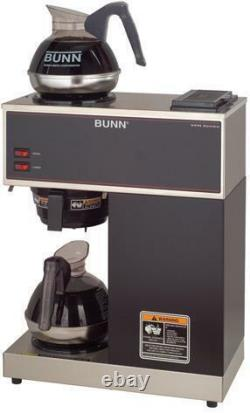 Bunn Pour-O-Matic VPR 12 Cup Coffee Maker Stainless