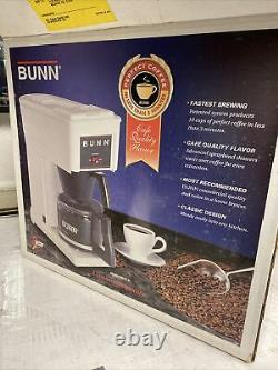 Bunn Pour-Omatic Coffee Brewer Restaurant Quality GR-White 10 Cup Aa73