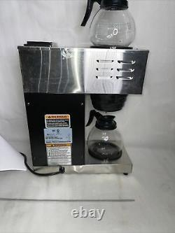 Bunn VPR 12 Cup Commercial Coffee Maker Pour Over Brewer Warmer Machine