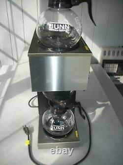 Bunn VPR 33200 12-Cup Pour-Over 2-Warmer Commercial Coffee Maker