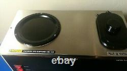 Bunn VPR BLK 33200-0001 12-Cup Pour-Over 2-Warmer Commercial Coffee Maker