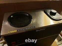 Bunn VPR, BLK 33200-0001 12-Cup Pour-Over 2-Warmer Commercial Coffee Maker. Used