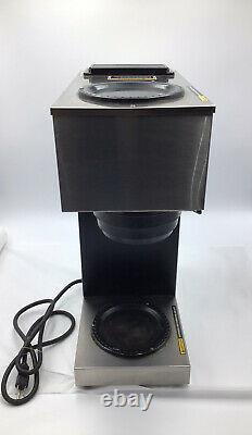 Bunn VPR, BLK With2 Easy Pour Decanter Stainless Steel Coffee Maker No Coffee Pot