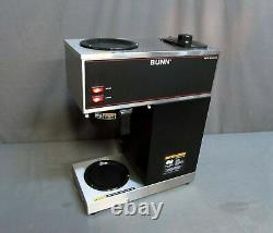 Bunn VPR Series Black Coffee Maker with 2 Glass Decanters