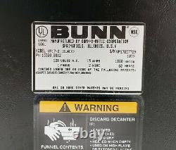 Bunn VP 17-2 13300.0002 Pourover 12 Cup Commerical Coffee Maker with 2 Warmers