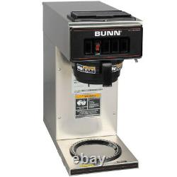 Coffee Maker 12 Cup BUNN Pourover Brewer Machine 1 Warmer Commerical Stainless