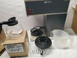 Coffee Maker 12 Cup BUNN Pourover Brewer Machine 2 Warmer Commerical