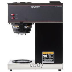 Coffee Maker 12 Cup BUNN Pourover Brewer Machine 2 Warmer Commerical 2 Decanters