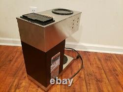 Coffee Maker 12 Cup BUNN Pourover Brewer Machine 2 Warmer Commerical 33200.0000