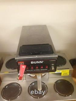 Commercial Coffee Maker with 5 Warmers and Direct Water Line- Bunn CRTF5-35-0023