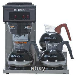 NEW BUNN VP17-3 Pourover COFFEE Brewer Machine 3 Warmer Commerical Low Profile