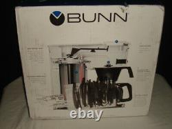 NIB BUNN GR White Speed Brew Classic Coffee Maker WHITE 10 Cup Made in the USA