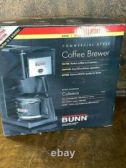 NOS BUNN 10 Cup COFFEE MAKER Commercial Style Brewer New in Box