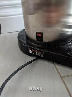Tim Hortons BUNN Black Stainless Steel 10-cup Coffee Maker Brewer TESTED
