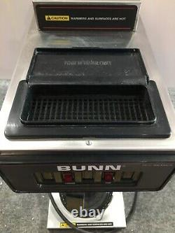 Used Bunn 13300.0012 Coffee Maker VP17-2 Stainless (No Coffee Pot)
